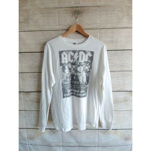 Pink Floyd Tour 79 White Graphic Long Sleeve Shirt